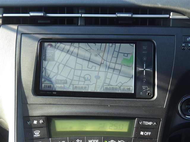 純正メモリーナビ+フルセグTV+バックモニター+ETC付きです!初めての道も迷いにくく、ロングドライブも快適ですよ♪