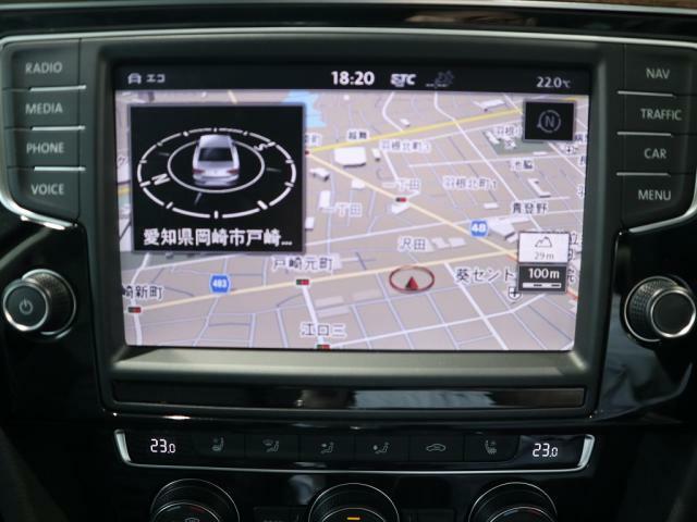 ディスカバーPRO大画面 8インチタッチパネルの高性能ナビには、フルセグTV+CD+DVD+SDカード+Bluetoothの機能を搭載しています。