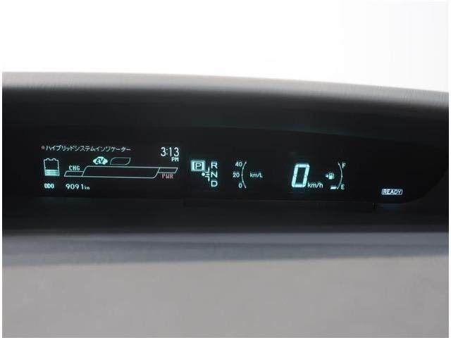 デジタルメーターで燃費効率など確認出来ます。視認性も良好です。