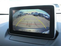 CX-3はバックカメラが標準装備となっており駐車が苦手な方も死角が減り安心してお乗りいただけます。