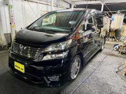 トヨタ ヴェルファイア 2.4 Z 1オ-ナ-禁煙車WサンR両側Pスライド ナビTV