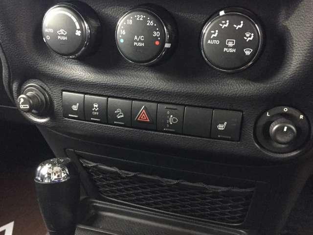 ★前席シートヒーター機能付き!冬のレザーシートの冷たさを解決してくれます!