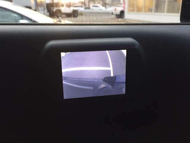 ★サイドカメラも搭載されているので、狭い道路でも安心です!