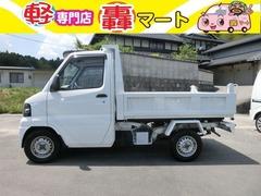 三菱 ミニキャブトラック の中古車 660 楽床ダンプ 4WD 広島県東広島市 54.9万円
