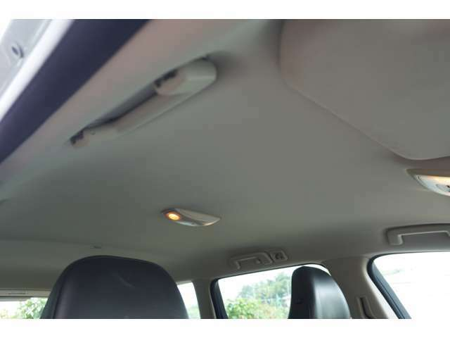 天井はタレ、汚れなどなくキレイです。