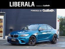 BMW M2クーペ M DCT ドライブロジック カーボンRディフューザ・ドアミラー 黒革