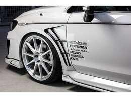 ROWENオリジナル車高調!Prodorive GC-0100S 20インチAW!POTENZA S001 245/30R20! KYOO-EIレーシングホイールナット!