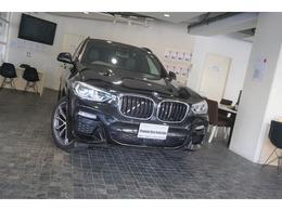 BMW X3 xドライブ20d Mスポーツ ディーゼルターボ 4WD 1オナハイラインP黒革OP20AW新車保証継承