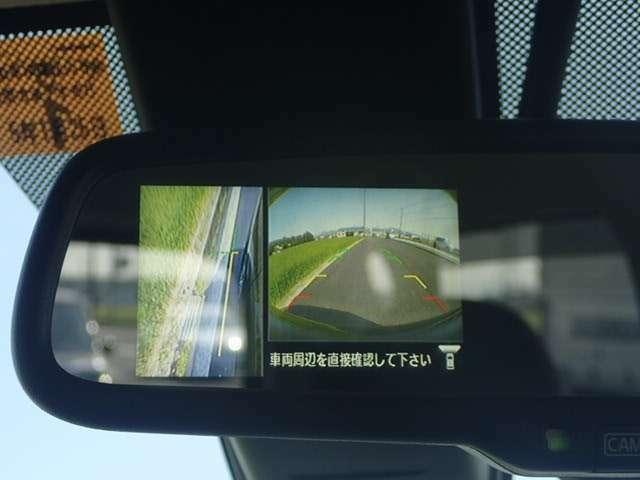 アラウンドビューモニター付きなので、もう駐車は怖くありません!安心の全方位カメラ付き!