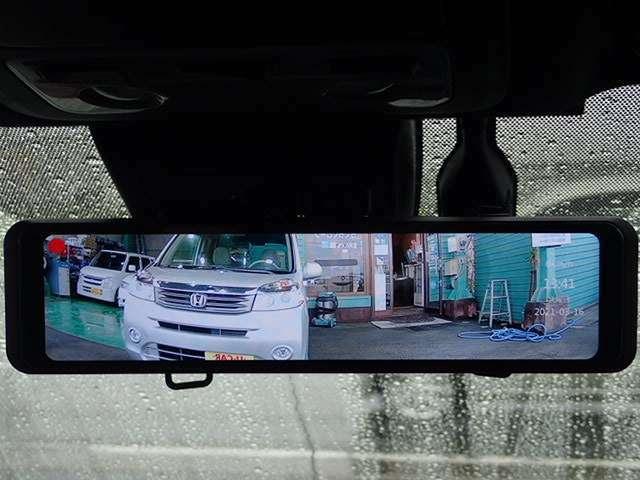 Bプラン画像:夜間対応のあんしん前後常時撮影機能付き!前方170度後方140度の広範囲カメラ!バックカメラの代わりにも使えます!あおり運転対策にいかがですか?