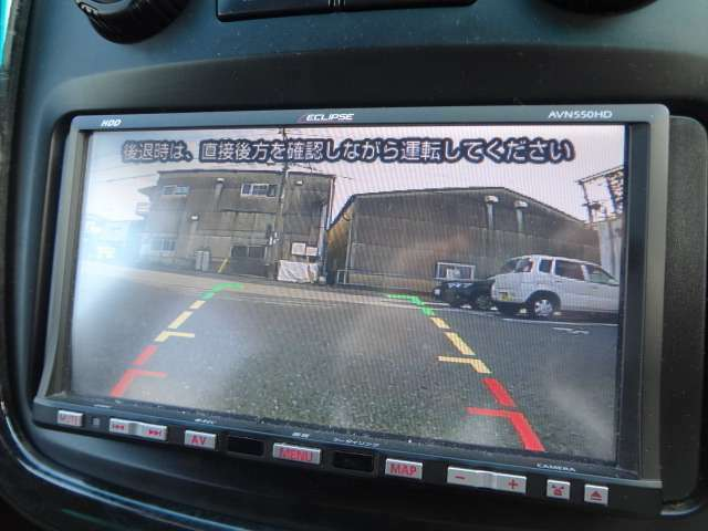 大きい車体のお車の必須アイテム♪バックカメラも搭載してます!