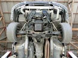 強度のある25ターボミッション30A!社外ラグドライブ式強化クラッチ!デュアルフロントマフラー!社外テンションロッド!前置きインタークーラー!