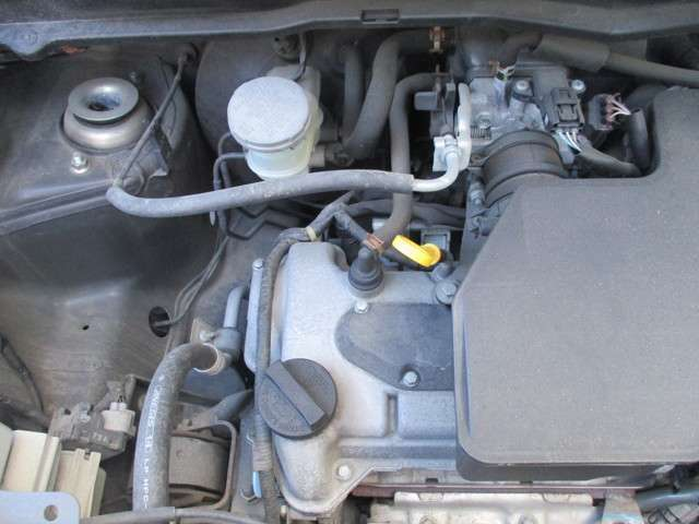 ★タイミングチェーン方式♪タイミングベルトの交換不要で大きな出費が抑えられます。故障、オイル漏れの少ないエンジンです。