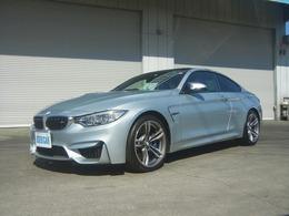 BMW M4クーペ M DCT ドライブロジック インテリS 黒革シート アダプティブMサス