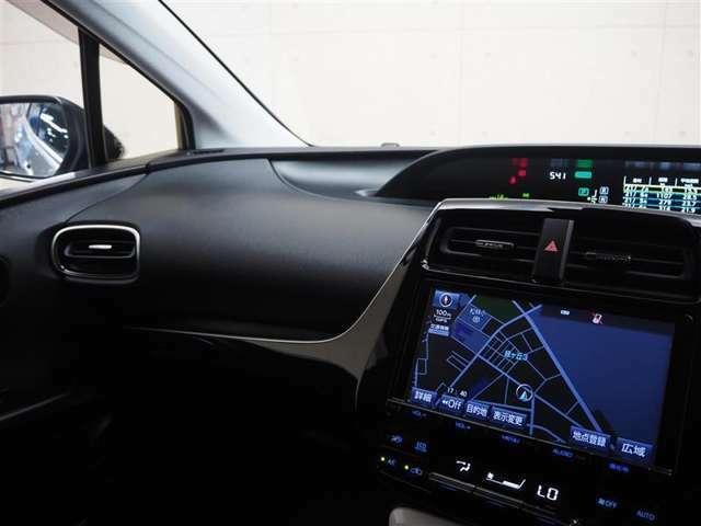 ドライバー目線の画像です。メータ類がセンターにあるので、視線移動が少なくすみます!