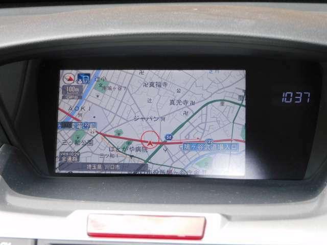 メーカーオプションHDDインターナビフルセグTV+リンクアップフリー