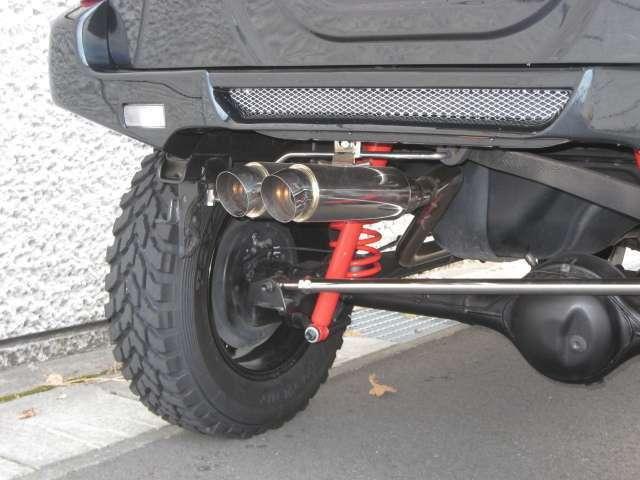 スポーツマフラー!車検対応タイプに交換できます!タニギチ製シングル出し・5次元製2本出し設定あり!