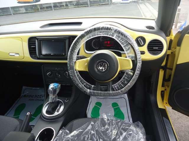 VWといえばBeetle、といった声も多くいただいている長年愛され続けてきた一台。印象的な愛らしいデザインです。