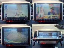 純正9インチメモリーナビ!!フルセグTV、CD録音&DVD再生、Bluetooth電話、バックカメラ!!