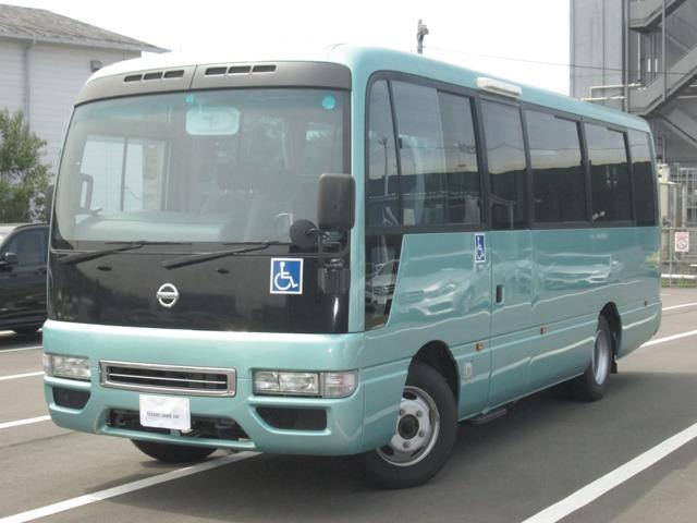シビリアンバス ハートフルサルーン 車椅子移動車 車椅子4基 17人乗り 入荷しました