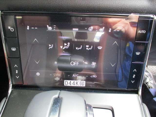 ★シートヒーター&ステアリングヒーター★エアコン左右独立温度調整機能★オゾンセーフフルオートエアコン!運転席と助手席の設定温度を簡単な操作でそれぞれ独立して調節できます★