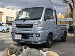 ダイハツ ハイゼットトラック 660 ジャンボ 3方開 4WD カスタム 地デジV 赤革シートカバー