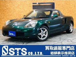 トヨタ MR-S 1.8 Vエディション シーケンシャル タンレザー 純正AW ETC キーレス