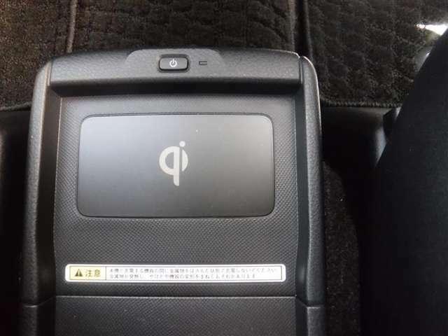 スマホ時代に便利な置くだけ充電。国際標準規格Qi規格対応スマホが対象です。