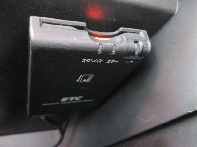 ETCが装着されています!有料道路のストレスを軽減でき、運転に集中できます!