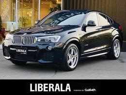 BMW X4 xドライブ28i Mスポーツ 4WD 黒革 360° 電動リアゲート LED ドラレコ
