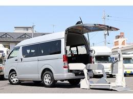 トヨタ レジアスエース 2.0 ウェルキャブ Cタイプ ロング 電動スイングアームリフト 車いす固定装置