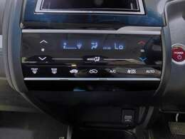 プラズマクラスター付オートエアコン、空気清浄機の役割もしてくれるので車内は快適です。