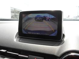 バックカメラで後方もすっきり確認できます。駐車時に便利ですね!