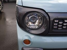 LEDヘッドランプ装着車