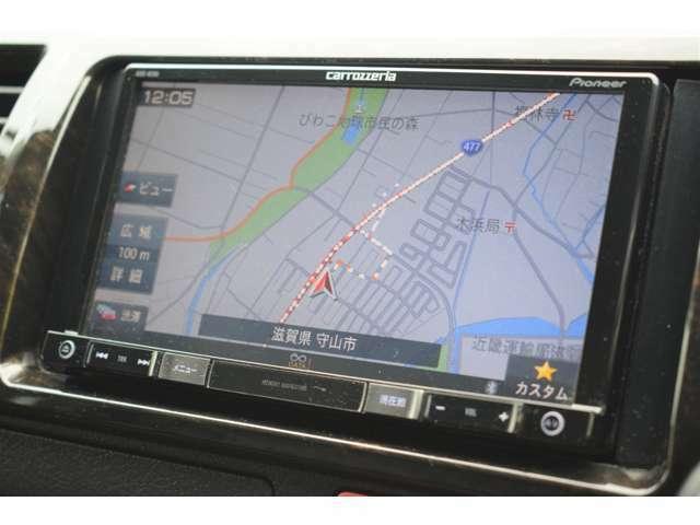 カロッツェリア7型ナビ!フルセグTV・Bluetooth・ラジオ・CD/DVD・バックカメラ・ETC