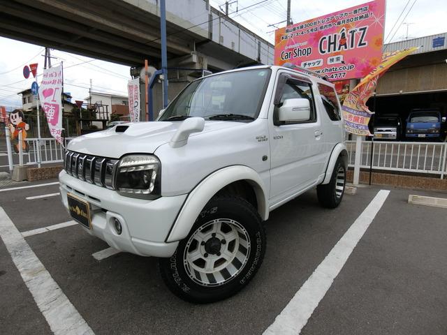 ユーザー買取美車ターボ4WD車検有オバフェン 背面タイヤ外テール外RスポHID革調席ナビフルセグBカメラ