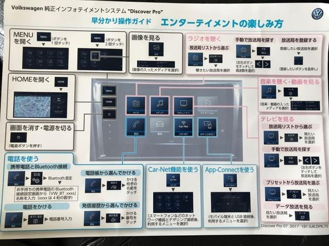 純正ディスカバープロ ナヴィゲーションシステム操作ガイド