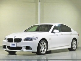 BMW 5シリーズ 528i Mスポーツパッケージ ブラック本革ワンオーナーHDDナビTV HID