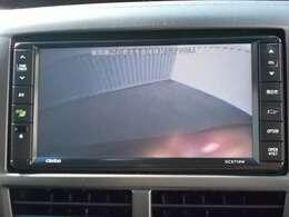 車庫入れも安心のバックモニター装備です。