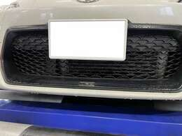 BLITZ前置きインタークーラー、BLITZオイルクーラー。冷却系はバッチリです。