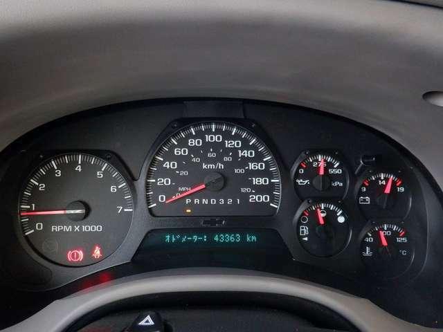 走行距離は43300kmで、もちろん実走行です。