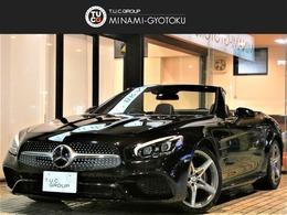 メルセデス・ベンツ SLクラス SL400 レ-ダ-P 黒革 ガラスル-フ ナビTV 2年保証