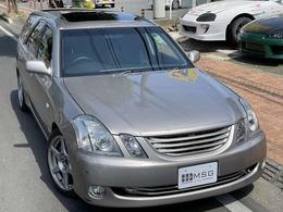トヨタ マークIIブリット 2.5 iR-V 5MT 2JZ公認 サンルーフ 車高調