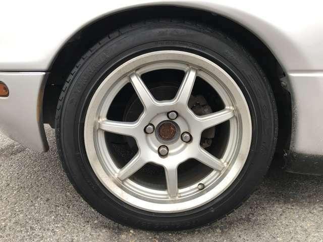 5速マニュアル 社外15インチアルミ ハードトップ テイン車高調 ETC