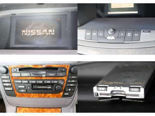 CD・カセット 車両情報 ETC