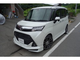 トヨタ タンク 1.0 カスタム G S モデリスタエアロ・ブレーキサポート車