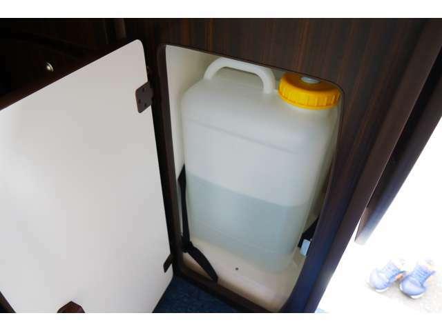 給排水ポリタンクは19Lございます!