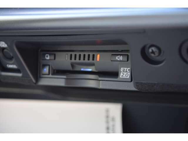 ■メーカーオプションのETC2.0が装備されておりますので、納車されてすぐにドライブをお楽しみいただけます。