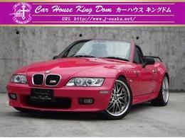 BMW Z3 ロードスター 2.2i ピンク全塗装済車高調社外18AW