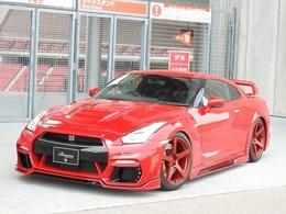 日産 GT-R 3.8 ピュアエディション 4WD ROWENエアロフルカスタム 20AW車高調